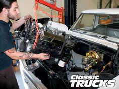 1972 Chevy C-10 LS1 Engine Install - Hot Rod Network