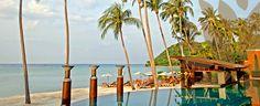 Koh Samui Beach Resort - Mai Samui Beach Resort & Spa, A luxurious five-star resort, perfectly located on tranquil Laem Yai Beach - Tonje skal dit. ca 1300kr natta