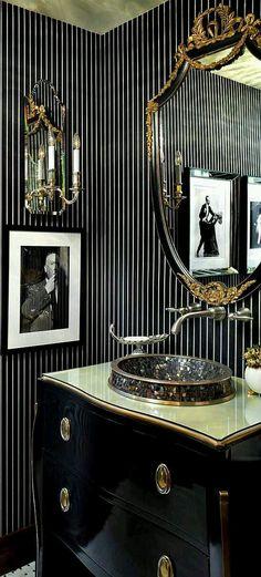 pinstripes wallpaper