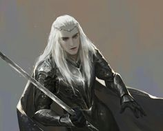 """elvenkingtranduil: """"yourlaranikaisakova: """" by pinuoxixi """" Thranduil fought in the Last Alliance of Elves and Men. And there are some indications this affecting (and probably injuring) him greatly,. Anime Fr, Legolas And Thranduil, Shadow Of Mordor, Fantasy Male, Jrr Tolkien, Medieval Art, The Elf, Middle Earth, Lord Of The Rings"""