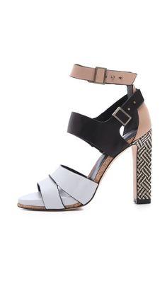 Rachel Roy Fawn Ankle Strap Sandals, $295