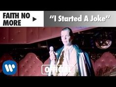 Faith No More - I Started a Joke (Official Music Video) I Started A Joke, Best Rock Music, Cover Songs, Alternative Music, Joker And Harley, Music Therapy, Martin Freeman, Great Videos, Death Metal