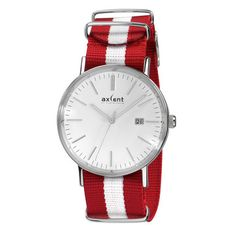 Axcent Of Scandinavia: Vintage Watch White Red, at 44% off!