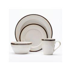 Mikasa Gourmet Basics Avery 16-pc. Dinnerware Set, Brown ...