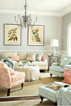Arredare il soggiorno con i colori pastello (Foto 40/40) | Designmag