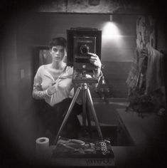 "Sally Mann: ""Self-Portrait"" (1973)"