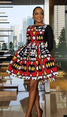 Checkout These Classy Ankara Gowns That Will Give You That Elegant Look - Fashion&Beauty - operanewsapp Short African Dresses, Ankara Short Gown Styles, Ankara Gowns, African Print Dresses, Short Dresses, African Fashion Ankara, Latest African Fashion Dresses, African Print Fashion, Africa Fashion