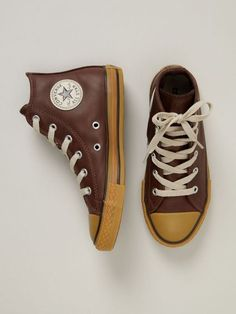 Got for M- too cool for school. Converse Leather Chuck Taylor