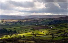 A classic Dartmoor view near Widecombe Oh The Places You'll Go, Places To Visit, Devon England, Dartmoor, Cornwall, Geography, Blogging, Landscapes, Wanderlust