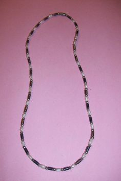 Costume Seed Pearl & Bead Necklace by MICSJEWELSGALORE on Etsy