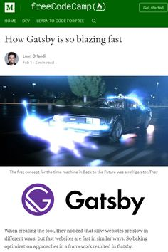 Code splitting, cache, image optimization, minification and unique filenames. These are just some of the reasons why GatsbyJS is so fast.