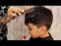 How to give your kid a Mod Fade | Haircut Tutorial - YouTube