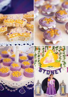 Beautiful Bright & Cheery Tangled Birthday Party: The Treats