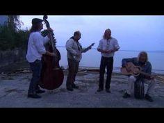 Cloverleaf brogues- Fishermans Blues