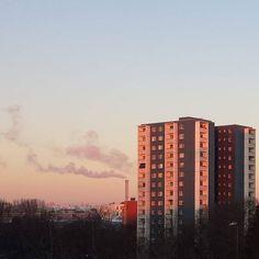 #sunset #myhome #Berlin #Kreuzberg #Sky