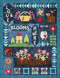 Love Blooms Here/Batik Series http://www.quiltandsewshop.com/product/love-blooms-here-batik/quilting-kits-quiltmaker-kits