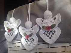 Crochet Angel  Set of 3 Angels / Christmas by CrochetGift4You