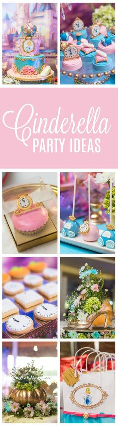 Magical Cinderella Themed Second Birthday Party on Pretty My Party