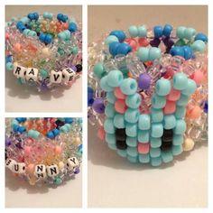 Kandi Mask, Kandi Cuff, Kandi Bracelets, Rainbow Loom Bracelets, Pony Bead Patterns, Kandi Patterns, Beading Patterns, Bead Crafts, Jewelry Crafts