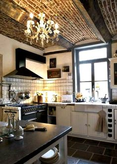 Ceiling Wow: Kitchens