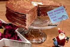Llimaverda: Tarta huesitos de obleas y nutella