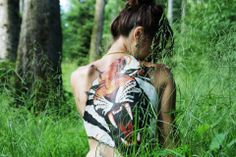 "Body painting ""Tiger"" !"
