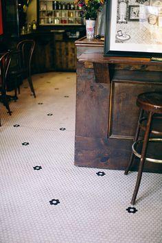 wood + tiling