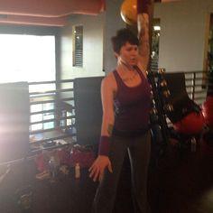 @mybrainmeets jerking the 16 kg #kettlebell for the first time today! #fitness #FitFluential #workout #cityathleticclub #kettlebellsport #kettlebellbombshell - @Kettlebell Bombshell- #webstagram