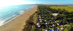 Camping & bungalow park la Ballena Alegre Costa Brava, situated on the cosast. With a long sand beach of 1800 meters.Ideal for families. Bungalows, Costa, Camping Life, Golf Courses, Country Roads, Beach, Water, Travel, Outdoor