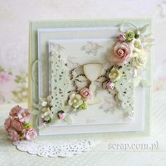 Scrapbooking, Frame, Flowers, Cards, Anna, Paper Crafts, Picture Frame, Tissue Paper Crafts, Paper Craft Work