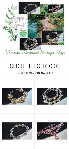 """Enjoy The Little Things..."" by martinimermaid ❤ liked on Polyvore featuring Selro, CORO and vintage"
