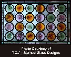 Mouth Blown Krosno Rondels - Mongo's Art Glassville - Stained Glass Supplies
