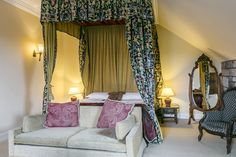 From charming themed bedrooms to four poster rooms, we're sure you'll be comfortable in our luxury Dalhousie Castle. Book your stay online and secure your stay in Scotland. Stay In A Castle, Four Poster Bed, Edinburgh Scotland, Bedroom Themes, Rooms, Luxury, Decoration, Furniture, Ideas