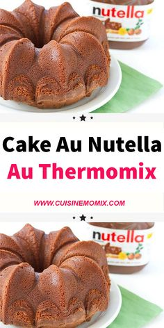 Cake nature fast and easy - Clean Eating Snacks Cake Au Nutella, Dessert Thermomix, Soft Chocolate Chip Cookies, Biscuit Cake, Savoury Cake, Clean Eating Snacks, Aide, Food And Drink, Baking
