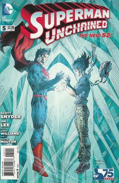 Superman: Unchained # 5 DC Comics The New 52! ( 2014 )