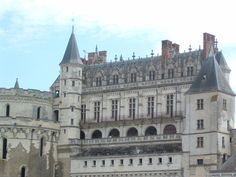 Chateau Amboise in Valle de la Loire, France.