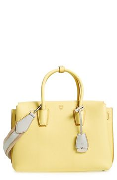 MCM MCM 'Medium Milla' Leather Tote available at #Nordstrom