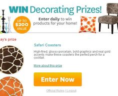 Ladies 39 Home Journal Daily Sweepstakes Daily Pinterest Journal