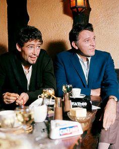 Peter O'Toole and Richard Burton