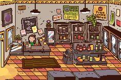 St Johns Worth pixel art by NedHugar