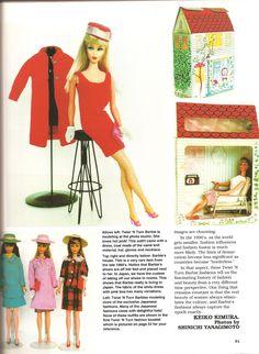 MOD TNT Barbie Japanese Exclusive Fashions Barbie Bazaar Jan/Feb 1993 | Flickr www.modbarbies.com