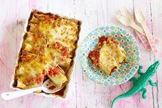 Pasta? Die rol je gewoon zelf! Van lasagnebladen maak je in een handomdraai gevulde cannelloni - Recept - Allerhande