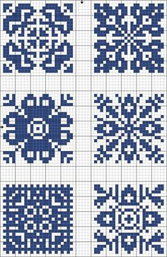 Meant for cross stitch but could be made into a knitting chart Crochet Chart, Filet Crochet, Knitting Charts, Knitting Stitches, Knitting Patterns, Cross Stitch Charts, Cross Stitch Patterns, Cross Stitching, Cross Stitch Embroidery