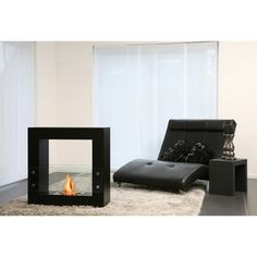 @Overstock.com - Bio-Blaze Qube Bio Ethanol Small Black Free Standing Fireplace - This modern Qube bio-fireplace from Bio-Blaze runs on bio-ethanol fuel and is environmentally friendly. This unit can function as a room divider for a dramatic effect in any home decor.  http://www.overstock.com/Home-Garden/Bio-Blaze-Qube-Bio-Ethanol-Small-Black-Free-Standing-Fireplace/7326634/product.html?CID=214117 $1,488.00.  #ClubOVIPlounge  #overstock.com