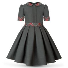 Best 12 Eden Dark gray by Alisia Fiori on Etsy. Dresses and coats for girls and women. Abiti e cappotti per ragazze e Baby Girl Party Dresses, Dresses Kids Girl, Girl Outfits, Dress Outfits, African Dresses For Kids, African Fashion Dresses, Kids Dress Patterns, Dress Anak, Girl Fashion