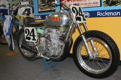 BSA Rocket III - This Trackmaster  BSA was tuned by Tom Cates and ridden by National #24, Jim Rice