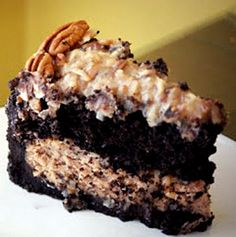 German Chocolate Cheesecake from @Jenni  www.thegingeredwhisk.blogspot.com