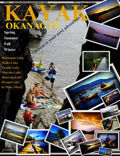 Playing around with my photos of kayaking trips today. What do you think? =)