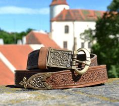 Medieval Leather Belt Middle Ages
