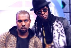 Two Chainz and Kayne West